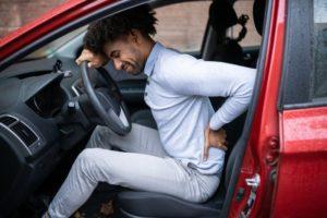 man needing back pain treatment in Dallas